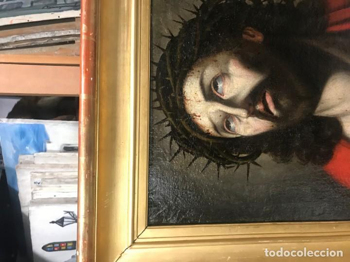 Arte: excepcional ecce homo italiano, s. xvii, circulo guido reni - Foto 17 - 153132622