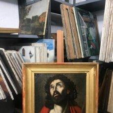 Arte: EXCEPCIONAL ECCE HOMO ITALIANO, S. XVII, CIRCULO GUIDO RENI. Lote 153132622