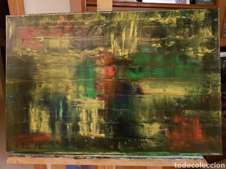Arte: Obra original Catalina Franco Inferno 40x60 cm abstracto. - Foto 2 - 153137336
