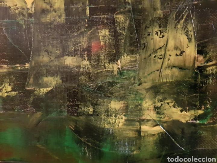 Arte: Obra original Catalina Franco Inferno 40x60 cm abstracto. - Foto 3 - 153137336