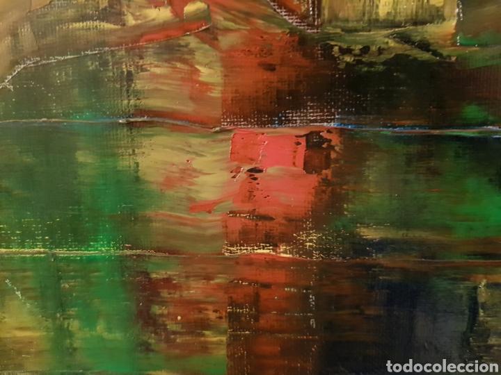 Arte: Obra original Catalina Franco Inferno 40x60 cm abstracto. - Foto 4 - 153137336