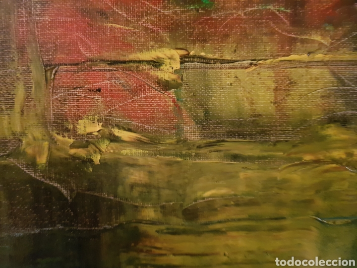 Arte: Obra original Catalina Franco Inferno 40x60 cm abstracto. - Foto 5 - 153137336