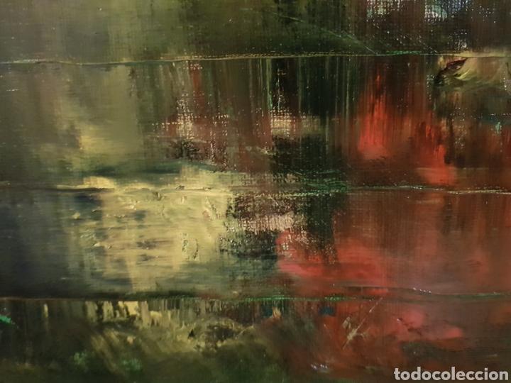 Arte: Obra original Catalina Franco Inferno 40x60 cm abstracto. - Foto 6 - 153137336
