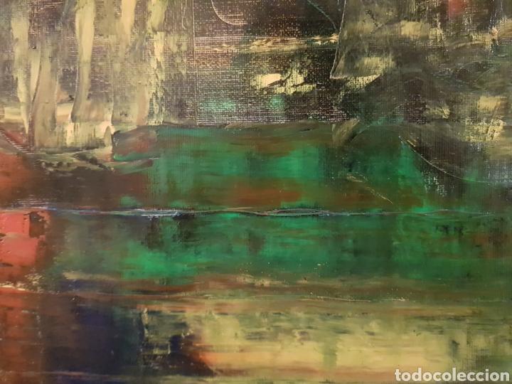 Arte: Obra original Catalina Franco Inferno 40x60 cm abstracto. - Foto 7 - 153137336