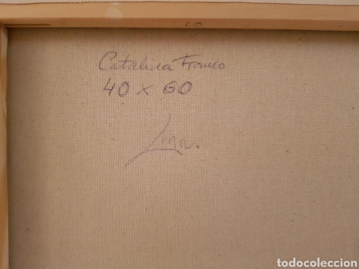 Arte: Obra original Catalina Franco Inferno 40x60 cm abstracto. - Foto 9 - 153137336