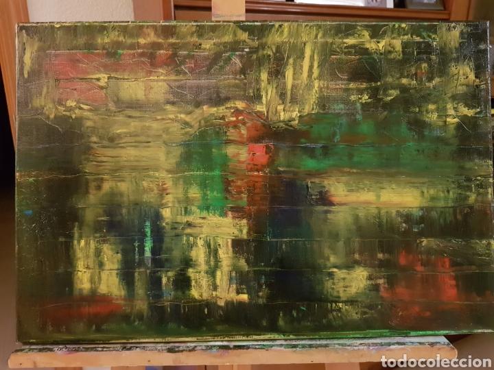 Arte: Obra original Catalina Franco Inferno 40x60 cm abstracto. - Foto 10 - 153137336