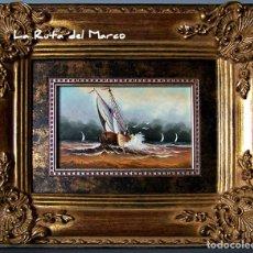 Arte: SOLDEVILLA - MARINA 1 - CUADRO DE ÓLEO SOBRE TABLERO.. Lote 126034743