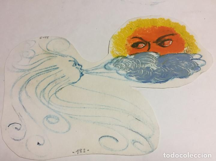 Arte: Roser Oduber Muntanyola (1957), tecnica mixta - Foto 2 - 151883454