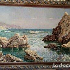 Arte: PEÑÓN DEL CUERVO DE RICARDO VERDUGO LANDI. COPIA DE FERNANDO NEGRO.. Lote 153250750