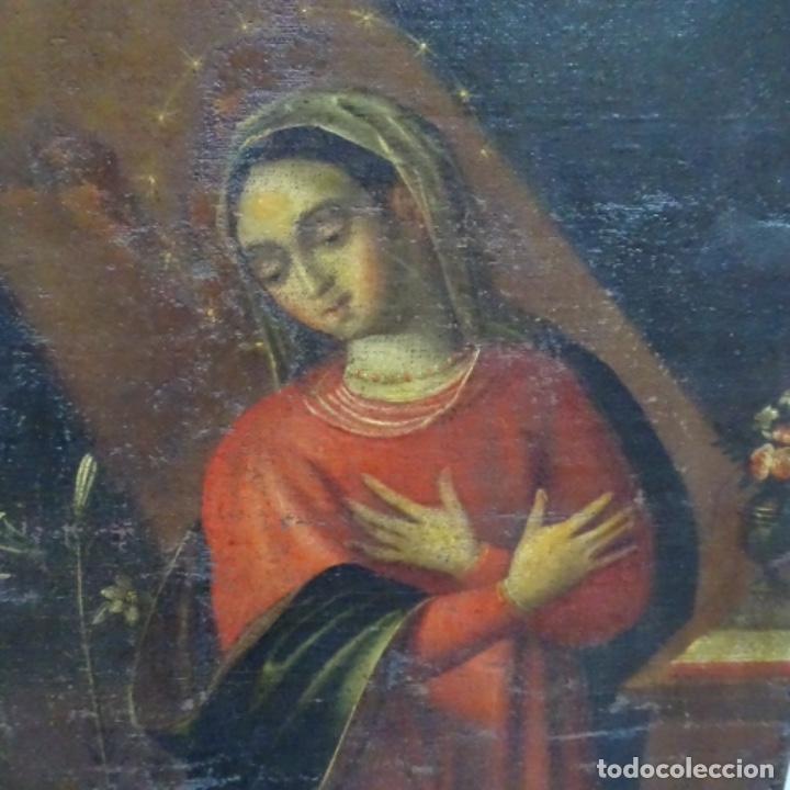 Arte: Óleo barroco sobre tela del siglo XVII.gran calidad.reentelado.escuela sevillana. - Foto 2 - 153264330