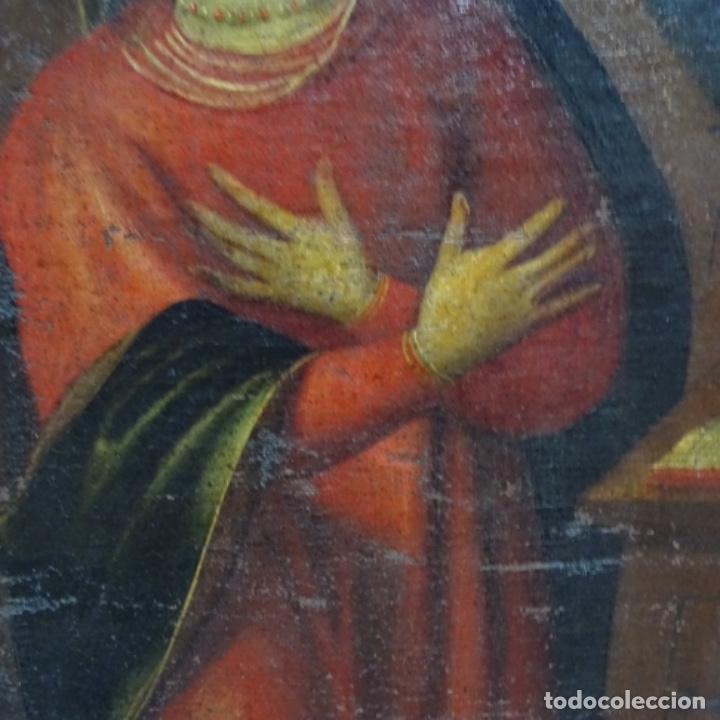 Arte: Óleo barroco sobre tela del siglo XVII.gran calidad.reentelado.escuela sevillana. - Foto 5 - 153264330