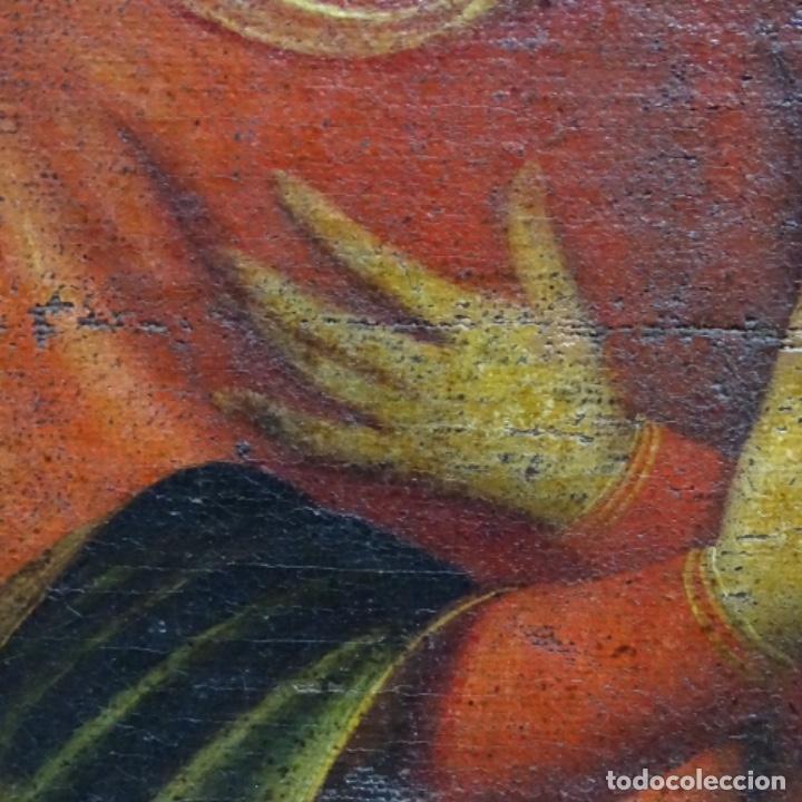 Arte: Óleo barroco sobre tela del siglo XVII.gran calidad.reentelado.escuela sevillana. - Foto 11 - 153264330