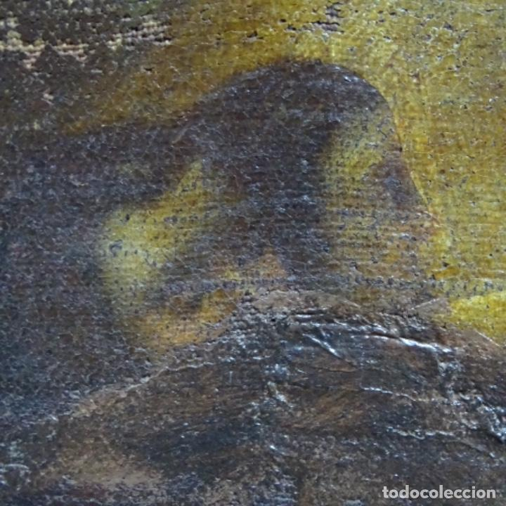 Arte: Óleo barroco sobre tela del siglo XVII.gran calidad.reentelado.escuela sevillana. - Foto 12 - 153264330