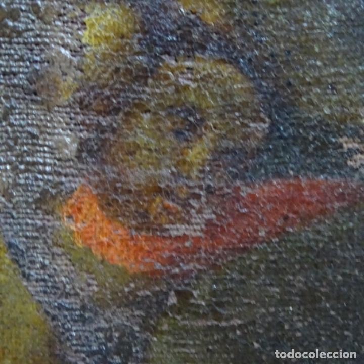 Arte: Óleo barroco sobre tela del siglo XVII.gran calidad.reentelado.escuela sevillana. - Foto 13 - 153264330