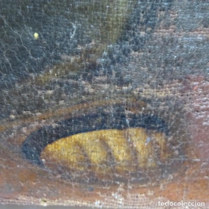 Arte: Óleo barroco sobre tela del siglo XVII.gran calidad.reentelado.escuela sevillana. - Foto 16 - 153264330