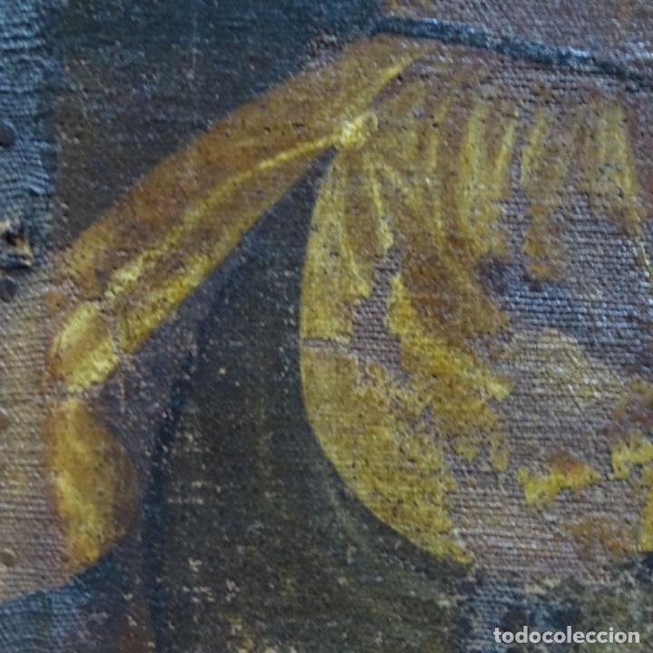 Arte: Óleo barroco sobre tela del siglo XVII.gran calidad.reentelado.escuela sevillana. - Foto 17 - 153264330