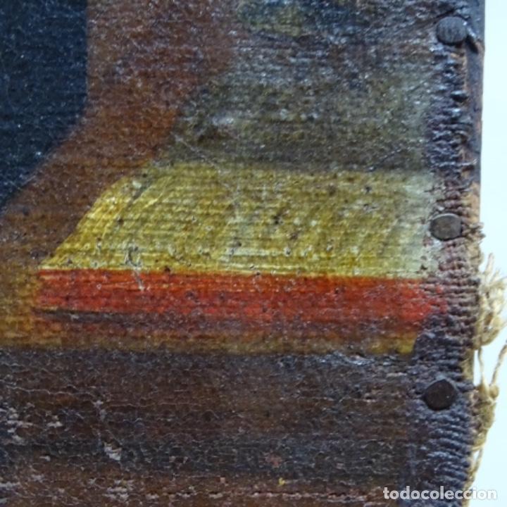 Arte: Óleo barroco sobre tela del siglo XVII.gran calidad.reentelado.escuela sevillana. - Foto 18 - 153264330