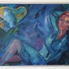 Arte: NEUS ORO: ÓLEO SOBRE LIENZO, FIRMADO Y FECHADO. Lote 153383214