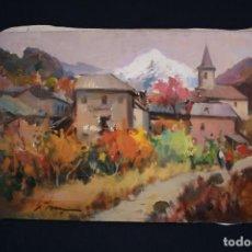 Arte: DIDAC GARCIA RIDAO, (PALAFRUGELL, GIRONA, 1944) OLEO SOBRE TELA, FIRMADO. Lote 153392082