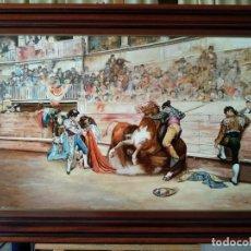 Arte: EL QUITE DE ESPADA DE JOSÉ DENIS BELGRANO. COPIA DE FERNANDO NEGRO.. Lote 153397270