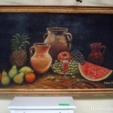 Arte: BODEGON FIRMADO P.BELTRAN . Lote 153448706