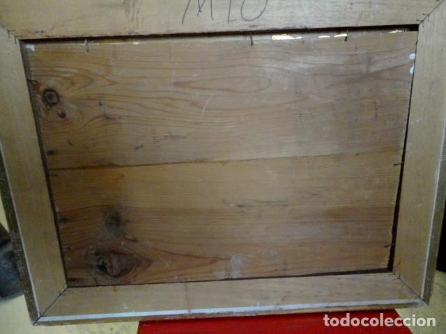 Arte: Cuadro antiguo bodegon manzanas y barril - Foto 3 - 153465314