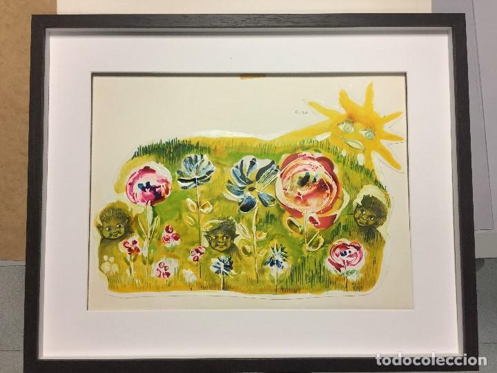 ROSER MUNTAÑOLA, OBRA ORIGINAL CATALOGADA ,40X50 CMS. (Arte - Pintura - Pintura al Óleo Contemporánea )