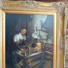 Arte: OLEO SOBRE LIENZO ENMARCADO. FIRMADO N. GALLEGO. 68 X 77 CM MEDIDAS CON MARCO.. Lote 153531906