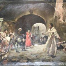 Arte: JOAQUÍN SOROLLA Y BASTIDA (D´APRES) (1863-1923)OLEO SOBRE TELA.. Lote 153609078