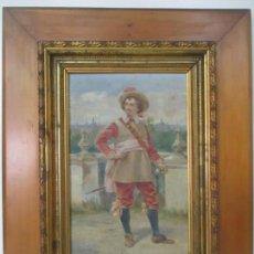 Arte: FRANCESC LABARTA Y PLANAS (BARCELONA 1883-1963) - BONITA PINTURA - ÓLEO SOBRE TABLA - CON FIRMA. Lote 153677614