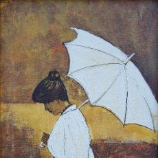 Arte: EDDY DOORENBOS (LA HAYA 1921-AMSTERDAM 2013), PRECIOSA PINTURA FIRMADA.. Lote 153697252