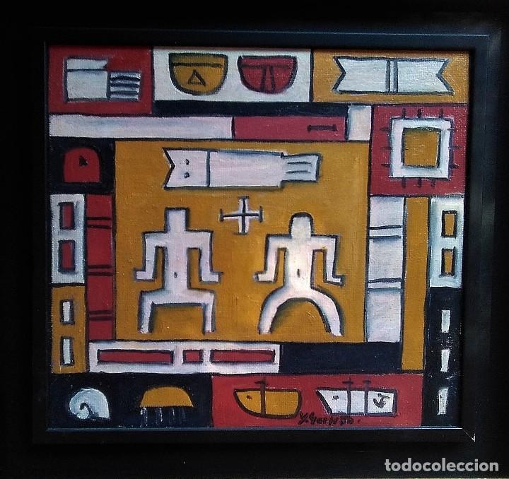 HECTOR YUYO GOYTIÑO. OLEO SOBRE TABLA (Arte - Pintura - Pintura al Óleo Contemporánea )