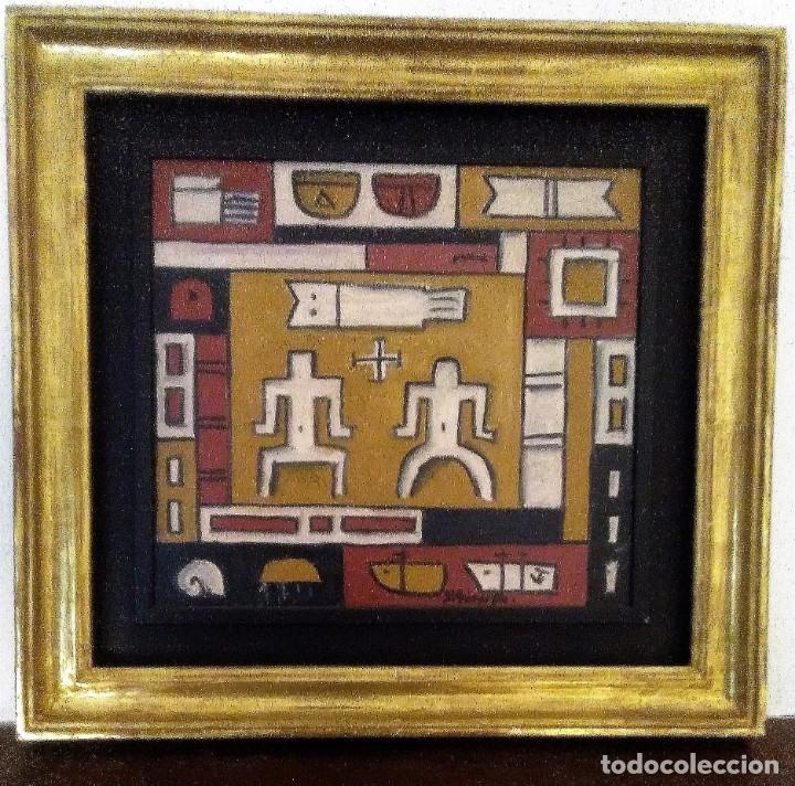 Arte: Hector YUYO GOYTIÑO. Oleo sobre tabla - Foto 2 - 153728190