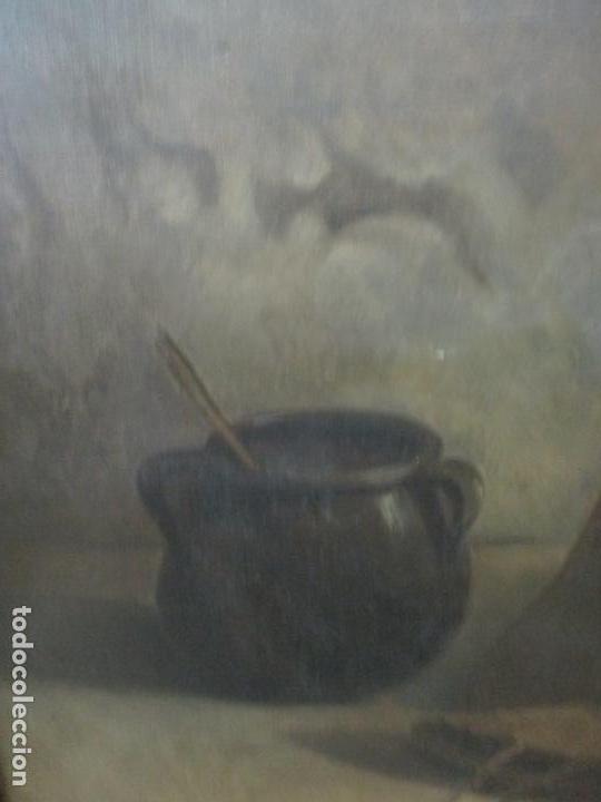 Arte: Óleo sobre Tela - con Bonito Marco de Madera - Firma J. Solana - Foto 4 - 153775318