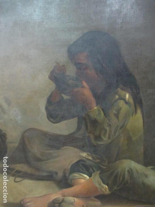 Arte: Óleo sobre Tela - con Bonito Marco de Madera - Firma J. Solana - Foto 6 - 153775318