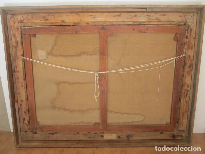 Arte: Óleo sobre Tela - con Bonito Marco de Madera - Firma J. Solana - Foto 18 - 153775318