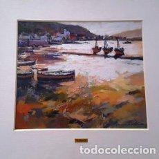 Arte: CUADRO - PINTURA AL OLEO - PORT DE LA SELVA - JOSEP MARFA GUARRO - BARCELONA -. Lote 153901118