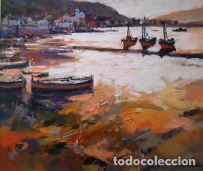 Arte: CUADRO - PINTURA AL OLEO - PORT DE LA SELVA - JOSEP MARFA GUARRO - BARCELONA - - Foto 2 - 153901118