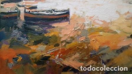 Arte: CUADRO - PINTURA AL OLEO - PORT DE LA SELVA - JOSEP MARFA GUARRO - BARCELONA - - Foto 8 - 153901118