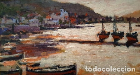 Arte: CUADRO - PINTURA AL OLEO - PORT DE LA SELVA - JOSEP MARFA GUARRO - BARCELONA - - Foto 10 - 153901118