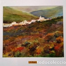 Arte: CUADRO - PINTURA ACUARELA - CADAQUES - JOSEP MARFA GUARRO - BARCELONA -. Lote 153941734