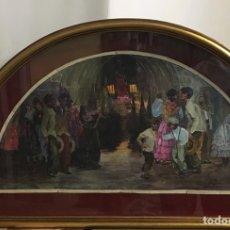 Arte: GONZALO BILBAO (SEVILLA 1960-MADRID 1938)GUACHE SOBRE PAPEL. Lote 153943312