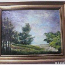 Arte: AROLAS,OLEO SOBRE TABLA FIRMADO Y FECHADO. Lote 154003354