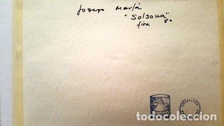 Arte: CUADRO - PINTURA ACUARELA - SOLSONA - JOSEP MARFA GUARRO - BARCELONA - AÑO 1980 - - Foto 10 - 154057626