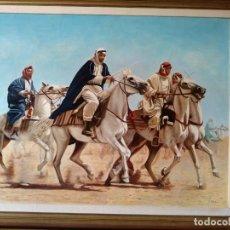 Arte: A CABALLO POR EL DESIERTO DE FERNANDO NEGRO.. Lote 154110810