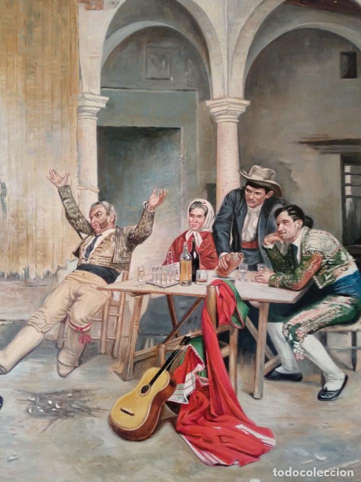 Arte: Después de la Corrida de Denis Belgrano. Copia de Fernando Negro. - Foto 2 - 154114338
