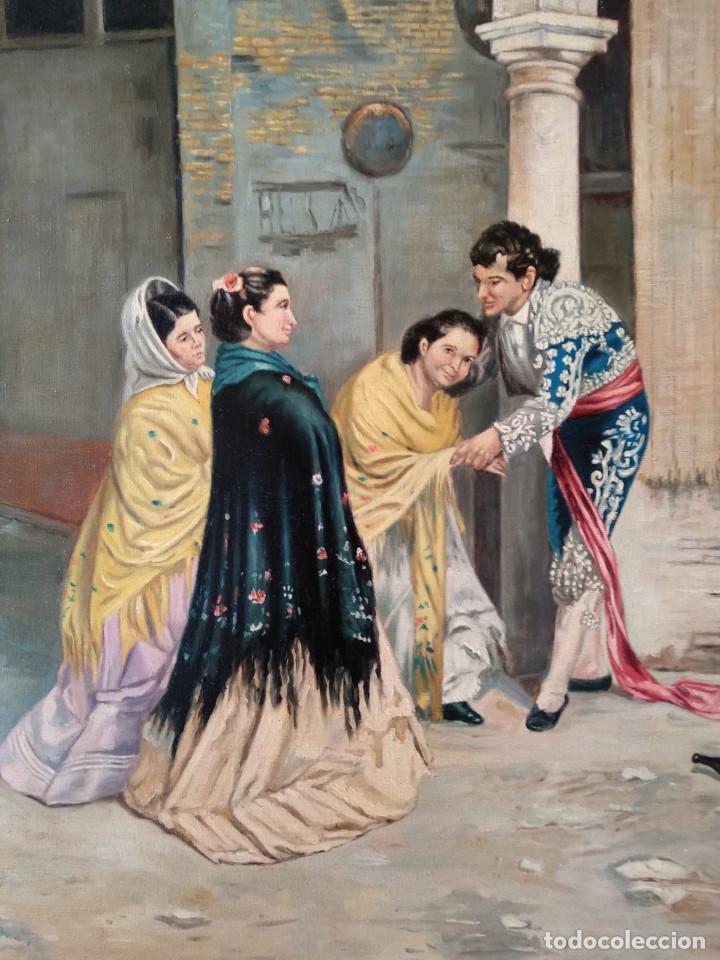 Arte: Después de la Corrida de Denis Belgrano. Copia de Fernando Negro. - Foto 3 - 154114338