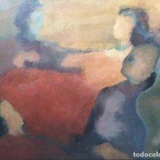 Arte: VÍCTOR CASAS, JULIÁN (PONTEVEDRA 1936). EN VOLANDAS. ÓLEO SOBRE TELA.. Lote 154244658