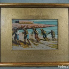 Arte: CUADRO AL ÓLEO S.XIX.. Lote 154277802