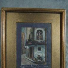 Arte: CUADRO AL ÓLEO S.XIX.. Lote 154278094